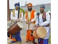 Bhangra Dhol players