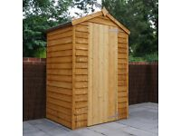 3 x 4 small wooden shed