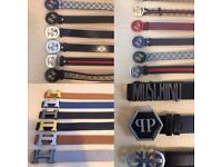 3 FOR £60 Gucci Hermes Versace Designer belts London cheap northwest hendon kilburn ealing Hampstead