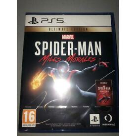 Ps5 Spider Man Miles Morales Ultimate Edition