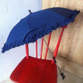 Baby Push Chair Stroller Umbrella Parasol Sun Protection to Attach Onto a Buggy or Pram
