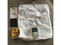 iPod Nano with accessories