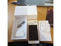 IPhone 6 Plus + Silver 16GB Unlocked to All network Condition is good with very minor scratch only
