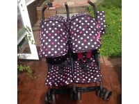Cosatto twin buggy