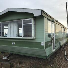 Static caravan 12x36