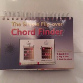 Guitar Chord Finder and Case Books