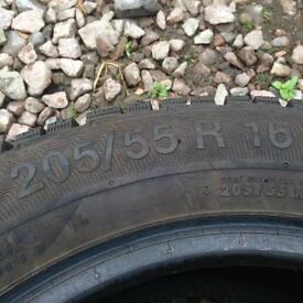 Winter tyres 205/55r16
