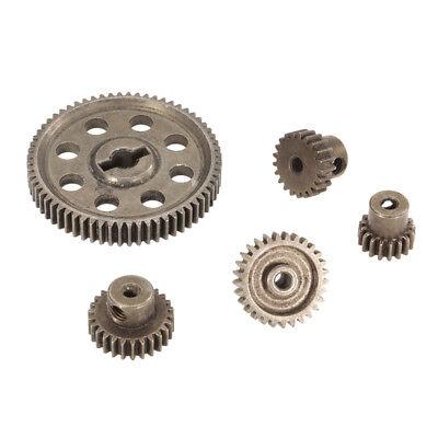 Metal Spur Diff Main Gear 5mm 64T Motor Pinion Gears 3.175MM 17T 21T 26T 29T