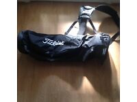 Titleist black golf carry bag