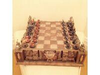 Alien vs Predator Chess set collectable