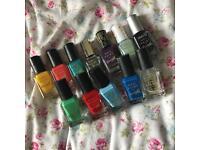12 nail polishes - barrym