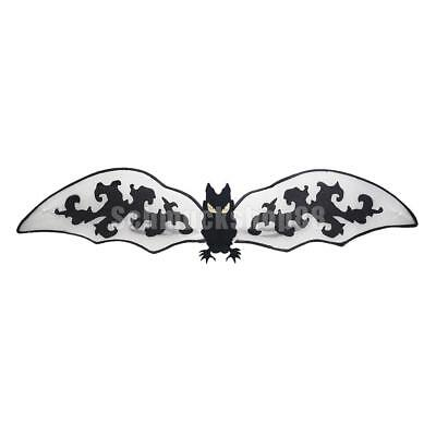 Fledermaus Kostüme Jungen (Halloween Fledermausflügel Fledermaus Flügel Jungen Mädchen Cosplay Kostüm)