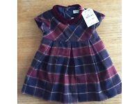 Brand new with tags Zara tartan dress 12 - 18 months, girls clothes