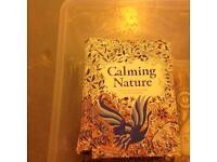 Job lot- 40 calming nature enchanting artwork colouring books.
