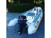 RIB 4.9m Valiant with 60hp outboard engine