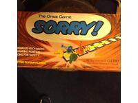 Sorry board game by Waddingtons