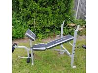 Maximuscle Weight Bench & Weights