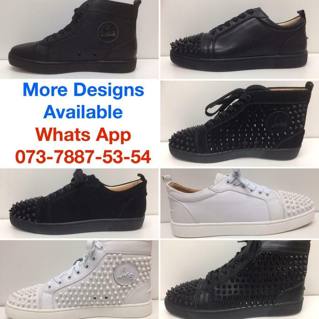 b6895210819d Christian Louboutin Shoes Valentino Trainers Balenciaga Runners Alexander  McQueens Gucci Sneakers UK