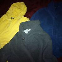 Boys size 12 sweatshirts and dress shirt from the Gap