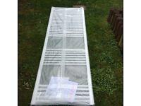 White Towel Rail Radiator - brand new in box - 1800mm x 600mm