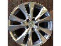 "Lexus Alloy Wheels genuine set of 4 x 18 "" brand new boxed"