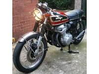 Cb750 Four k6 1976 USA import UK registered