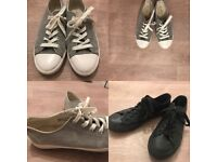 Two Pairs of Trendy Shoes: for a casual, work or hip look