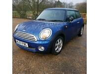 BMW MINI ONE 57 PLATE 6 SPEED CHEAP INSURANCE GROUP 1.4 lt 6 SPEED GEAR BOX FULL SERVICE HISTORY