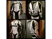 1 piece motorcycle leathers Yamaha