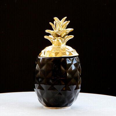 Large Pineapple Ceramic Kitchen Storage Jar Coffee Tea Sugar Container