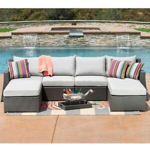 ensemble de sofa extérieur 6 pièces (MS084)