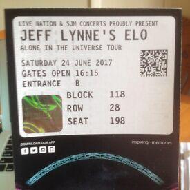 Jeff Lynne's ELO Ticket