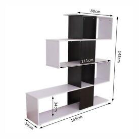 Office Shelving/Shelves - HOMCOM S Shape