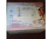 Janome 2032 sewing machine BRAND NEW worth £80 MY PRICE £50