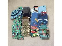 Summer bundle of boys clothes 18-24 months/1.5-2 years. Shorts, tops, coat, swimshorts. VGC