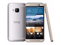 HTC One M9 Gold on Silver Unlocked