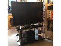 Toshiba Regza 37 inch 1080 HD Television & stand