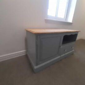 Upcyclyed TV unit
