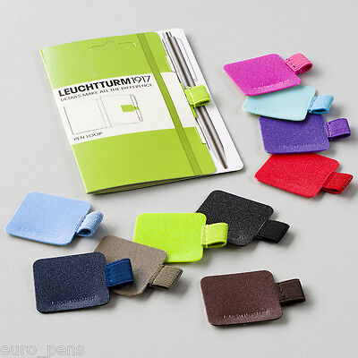 Leuchtturm 1917 Pen Loop / Pencil Holder for Notebooks - 26 Colours HIGH QUALITY