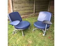 Retro Chairs Pair reduced to £99 for pair must go