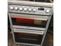 Hotpoint grey 60cm oven