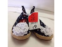 Girl's Shoes – Size 8 – Brand New
