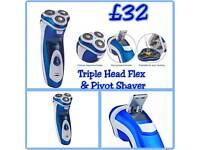 Triple Head Flex & Pivot Shaver