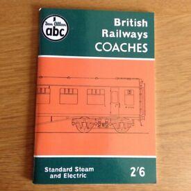British Railways Coaches - Collectible Book