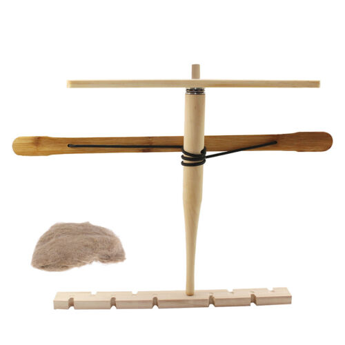 Outdoor Primitive Fire Starter Wood Bow Drill Adventure Fric
