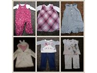 Baby girl clothes newborn-9/12 months