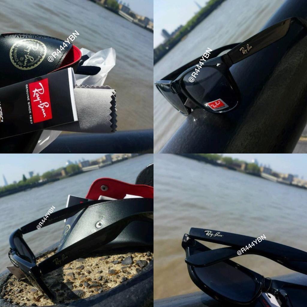 5bdcee454d Raybans Wayfarer Black Gloss Sunglasses CHEAPEST ONLINE - HIGH QUALITY
