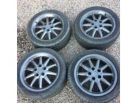 Audi alloys (17' boleros)