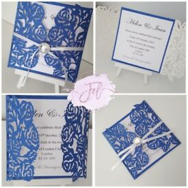 Wedding invitations, engagement invitations