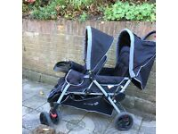 £50 - Safety First Duodeal Tandem Pushchair - rrp £165!